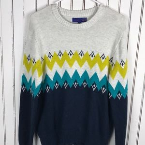 BNWOT Aeropostale Mens Chevron Knit Sweater size S